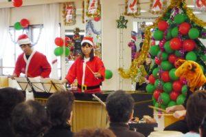 クリスマス会での演奏